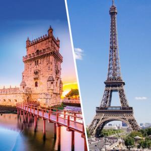 Réveillon em Lisboa e Paris
